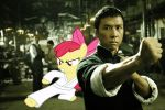 Ip Man and Apple Bloom by RicRobinCagnaan