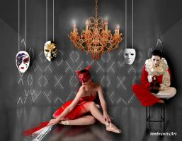 Maskerade - masque by rembrantt