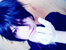 portrait of Sebastian Michaelis by SCHIZOPHRENIC-ALICE