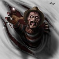 Freddy Krueger by ruizma