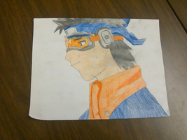 Obito Uchiha Drawing With COLOR by ChibiShadowPanda