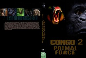 Congo 2 Primal Force DVD cover by SteveIrwinFan96