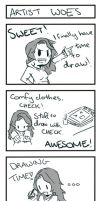 4Korra - Artist Woes by Scarlet-Songstress