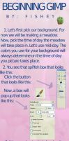 How To Draw Backgrouds On GIMP by Fishey-4-Ever