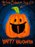 This is Halloween pumpkin card for 2013 by sw-eden