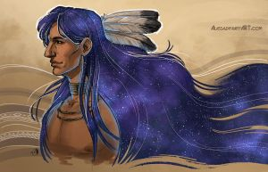 And the stars thanked him by Alassa