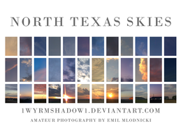 North Texas Skies Collage by 1Wyrmshadow1