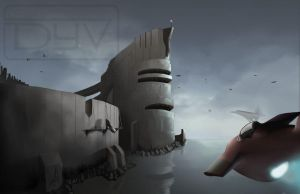 tower_dock by madd-sketch