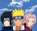Naruto: Team 7 by The-Vampire-Danchan