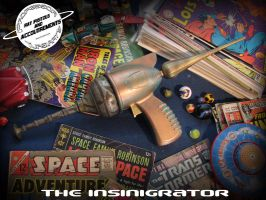 The Insinigrator Ray Gun by tursiart