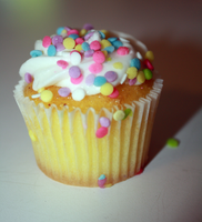 Colorful Cupcake by EnchantedCupcake