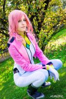 Feldt Grace - Gundam 00 II season by SbarbyCosplay