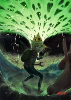 The Hand of Madness by adamtanart