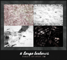 6 large textures by scarlein