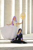 Pandora and Athena by Giuly-Chan