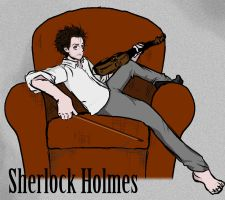 Sherlock Holmes by valo-rose