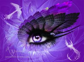 Purple eye by annemaria48