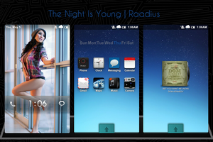 The Night Is Young by Raadius