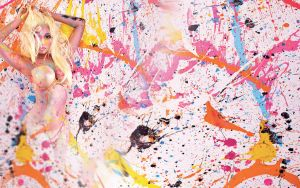 Pink Friday Roman Reloaded Background by ColourCrayon