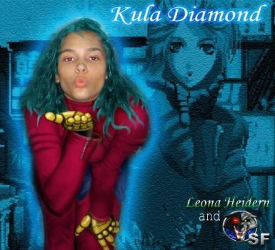 The King of Fighters Photoshop cosplay Kula Diamon by AyanamiAngel