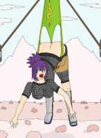 Anko hanging wedgie by seseta