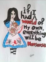Alice liddell by JustMeMerel