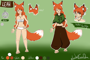 LEAH (reference) by LeahFoxDen
