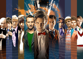 Fifty Years of the Doctor by ApprenticeofDoyle