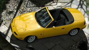1991 Mazda MX-5 Eunos Roadster J-limited (GT5) by Vertualissimo