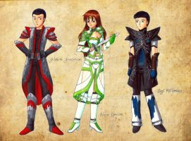 Guild Wars designs by CSupernova