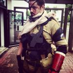 Punished/Venom Snake Cosplay japan expo by M4n1nm1rr0r