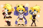 Len - Embarrassing outfits by giannysuki
