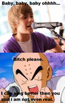 Justin Beiber ownage by secret-lips-101