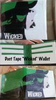 Duct Tape Wicked Wallet by thejenty