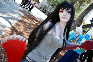 Marceline the Vampire Queen by spritepirate