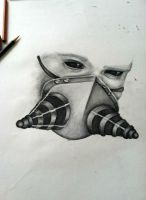 Gas Mask Beginning by just-asinine
