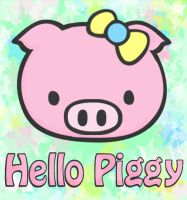 Hello Piggy by xbooshbabyx