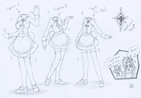 Serry designed some dresses... =v='' by SilverfanNumberONE