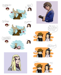 LotR-Hobbit doodles with BrET by rayn44