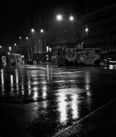 Cardiff by Night by gee231205