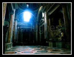 Inside St. Peter's by lehPhotography
