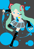 PAINT MIKU!!!!!!!!!!!!!!! by invaderSMEET