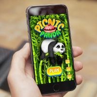 Picnic Panda Game Concept by ThemeJunky