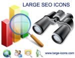 Large SEO Icons by yourmailkept