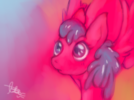 mlp- pony oc: pink berry by marpie