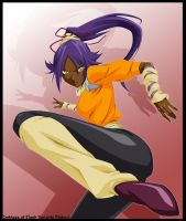 Yoruichi by Azley