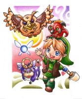 Chibi Link Adventures by LetsongAkemi