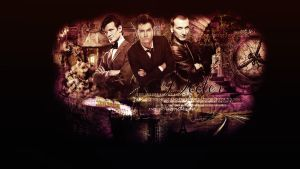 Three Doctors Wallpaper by toshpond