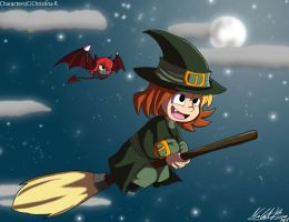 Witching Hour by AquaMoonlight