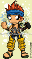 Wakka - Final Fantasy 10 by amy-art